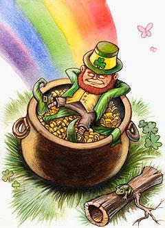 Risultati immagini per leggende irlandesi